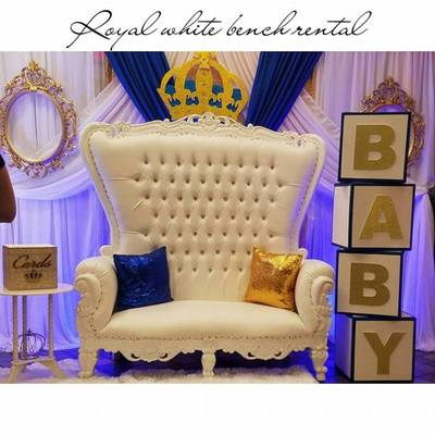 Throne Chair Rental West Palm Beach  South Party Rental