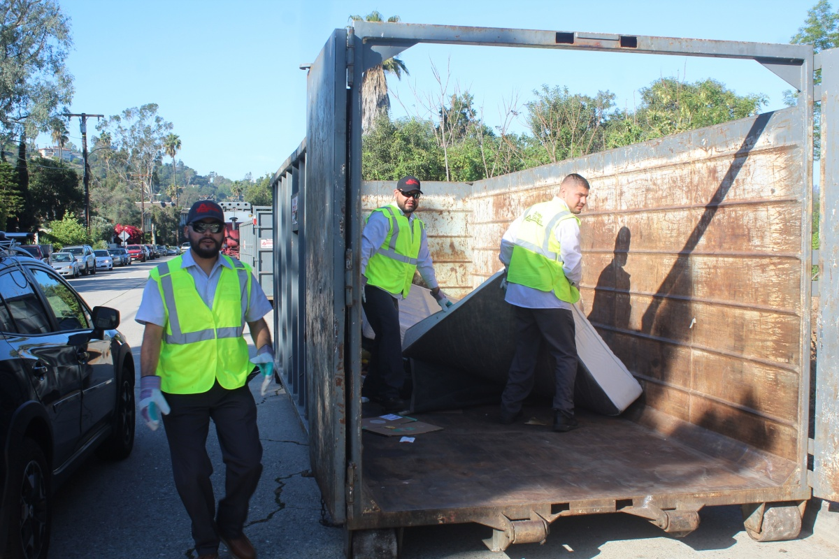 dumpster donation day free