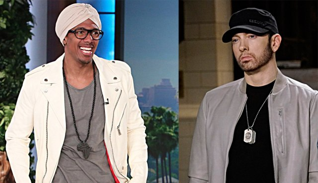 """Nick Cannon: """"Eminem is one of the greatest if not the greatest but I've never been scared of another individual"""""""