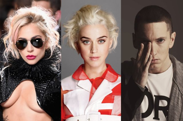 Eminem, Lady Gaga & Katy Perry Are Only Artist in History to Have Multiply Diamond Singles