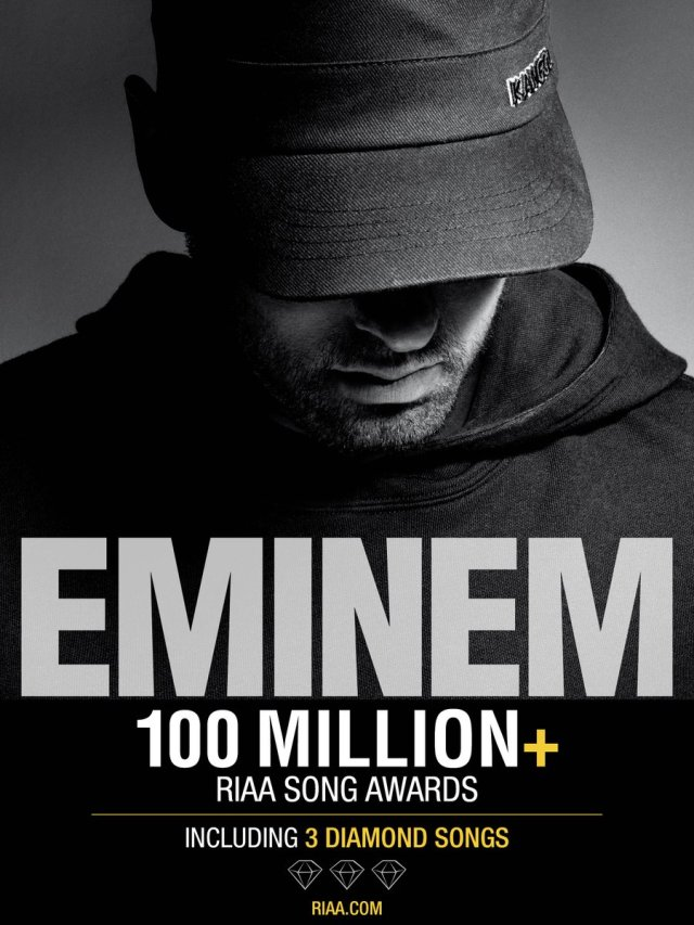 "BREAKING: Eminem's ""Lose Yourself"" goes DIAMOND in U.S. 