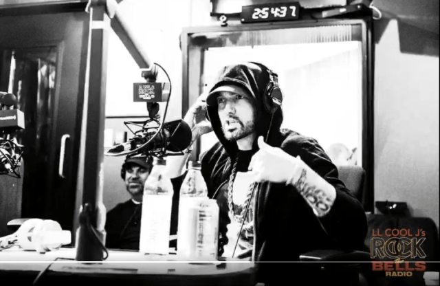 """New Interview: Eminem with LL Cool J – """"The Influence Of Hip-Hop"""""""