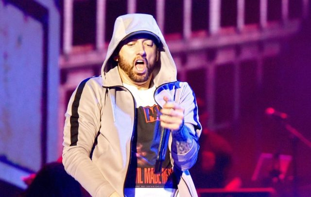 List of all 21 songs of Eminem that ever entered into Billboard Hot 100 Top 10