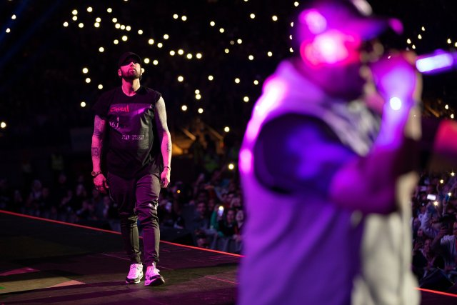 """Watch: Eminem closes Rapture Tour 2019 with """"FACK"""" in Wellington"""