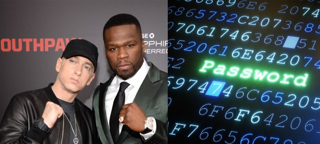 """New study reveals """"Eminem"""" & """"50 Cent"""" are one of the most hacked passwords in UK"""