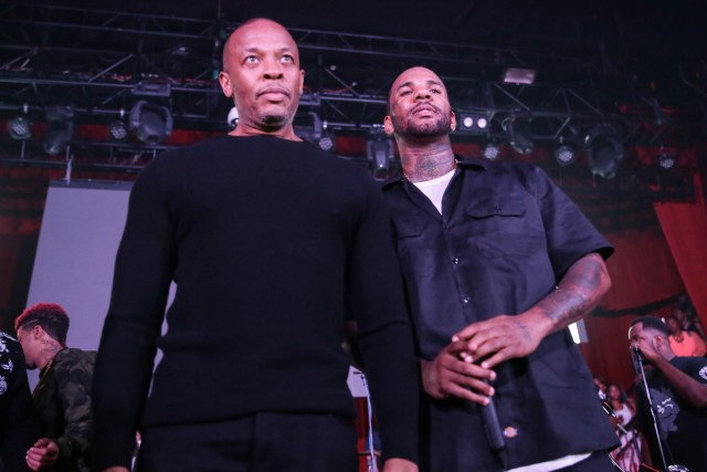 The Game phone-calls Dr. Dre while being interviewed on Power 106