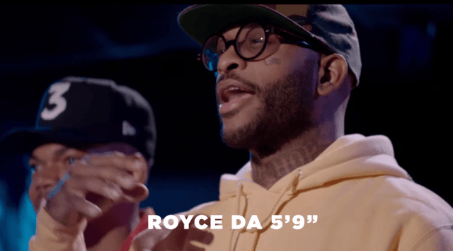 "WATCH: ""Rhythm + Flow"" trailer, featuring Royce 5'9″"