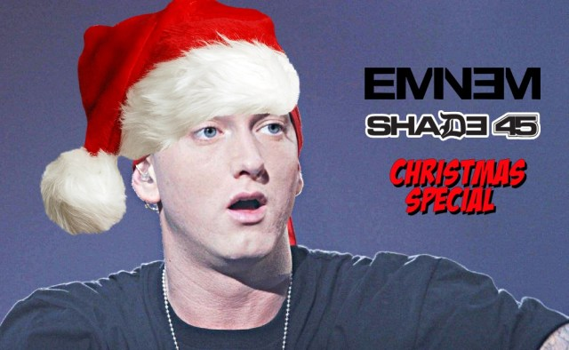WATCH: Eminem lists Top 10 Reason Why Santa Claus Might Be Gay