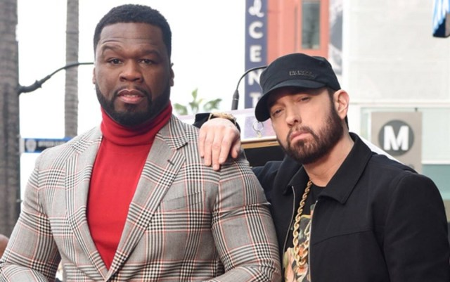 New Interview: 50 Cent says he has surprise release with Eminem
