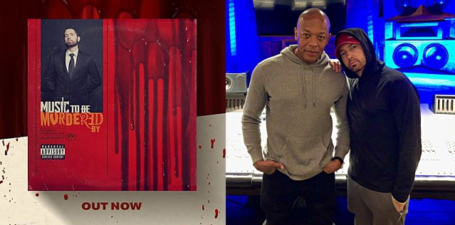 Here's list of every song Dr. Dre contributed his production in Eminem's new album