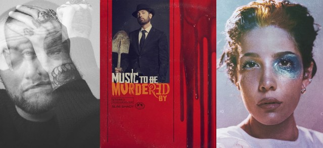 """First week sales projections in: """"Music To Be Murdered By"""" to debut at #1 on Billboard 200"""