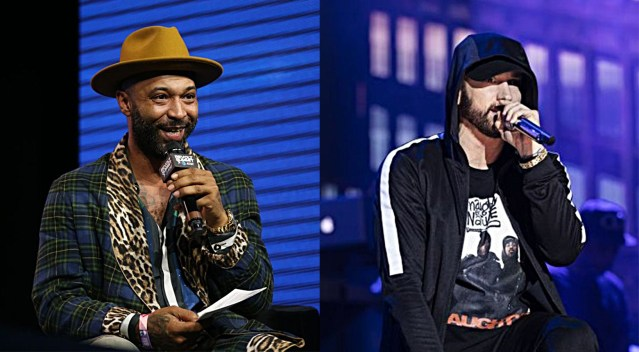 "Eminem calls Joe Budden 'backstabbing traitor' on a new song ""Lock It Up"""