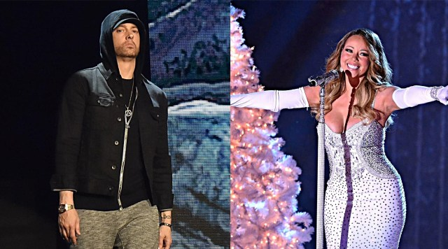 Mariah Carey's hacked Twitter account lashes out on Eminem