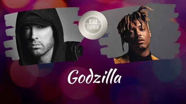 "Eminem & Juice WRLD's ""Godzilla"" is now eligible for PLATINUM in US"