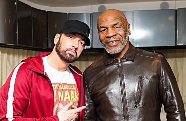 BREAKING: Eminem will be on Mike Tyson's Hotboxin' podcast tomorrow