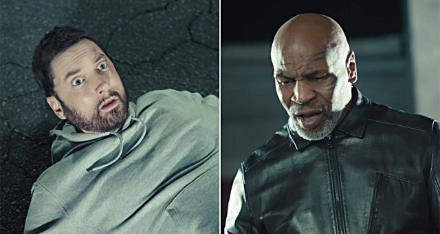 "Mike Tyson, LL Cool J, T.I. & more react on Eminem getting knocked out in ""Godzilla"" video"