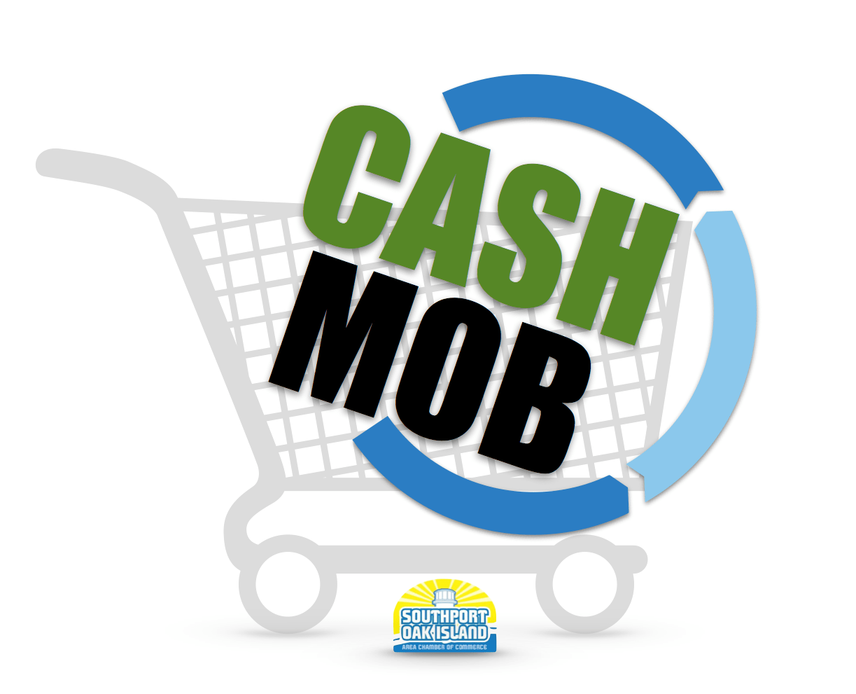 Image result for cash mob southport, nc images