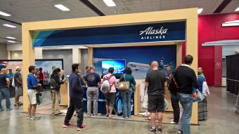 Alaska Airlines Booth
