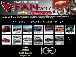 Chevy FANtastic Sweepstakes