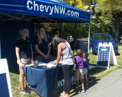 Chevy Brand Ambassadors at UW