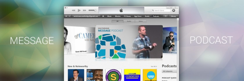 Weekly Podcasts now on iTunes