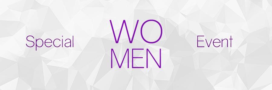 Women's program calendar of event banner