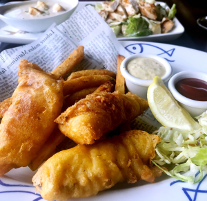 A sneak peak of the best fish and chips in town