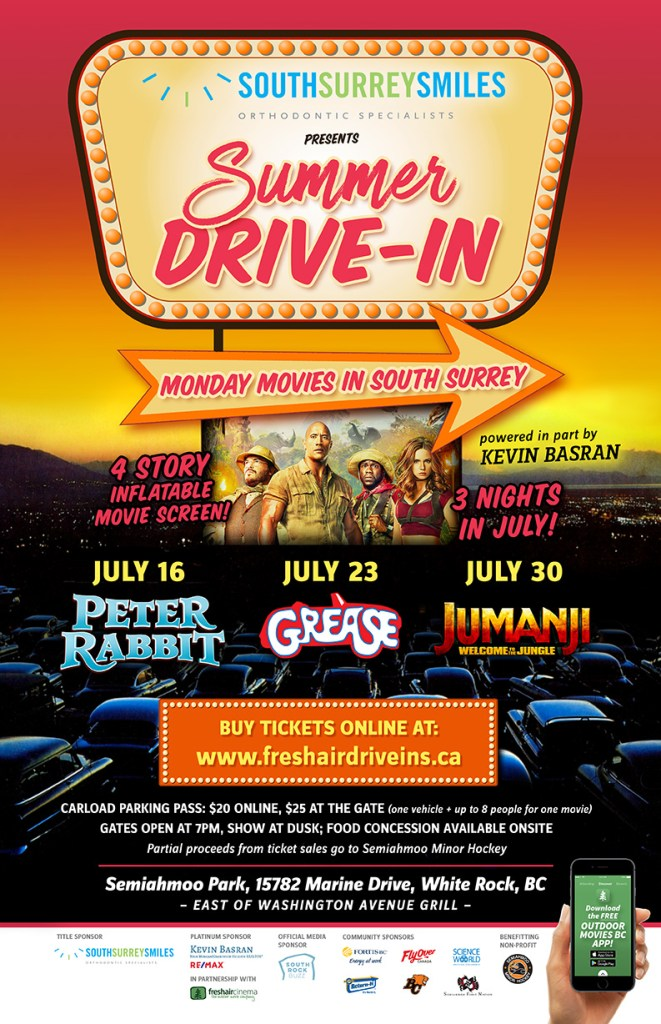 Summer Drive In 2018 South Surrey