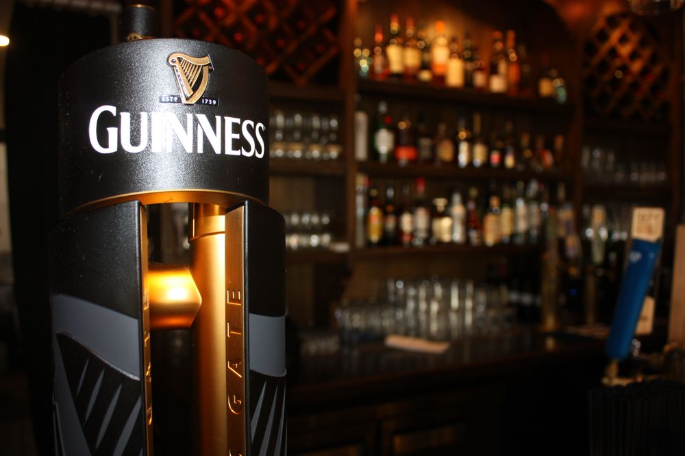 dew drop inn - guinness beer
