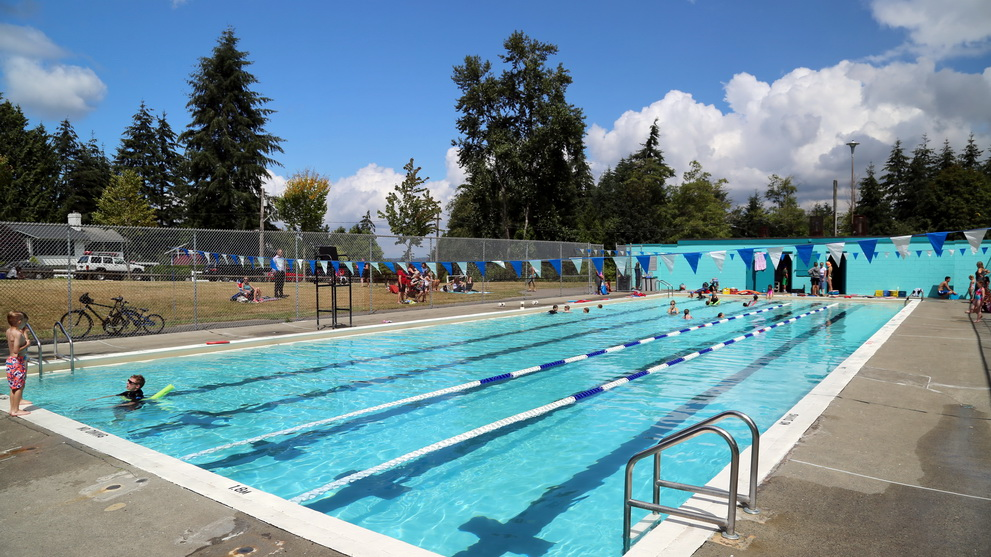 Cool off at Sunnyside Outdoor Pool in South Surrey