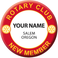 South Salem Rotary Red Badge