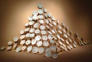 "Jen's Ceramic Installation ""Drift"""
