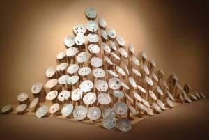 "Jen's Ceramic Installation ""Drift"""