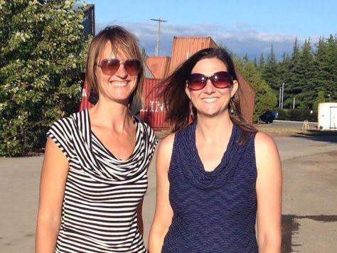 Sarah Kavage (l) and Nicole Kistler.