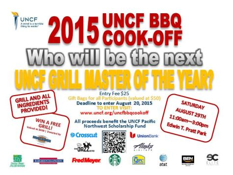BBQ Cook off flyer image