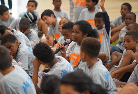 WNBA All star kids camp 10-1