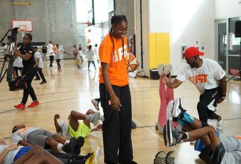 WNBA All star kids camp 11-1
