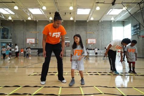 WNBA All star kids camp 6-1