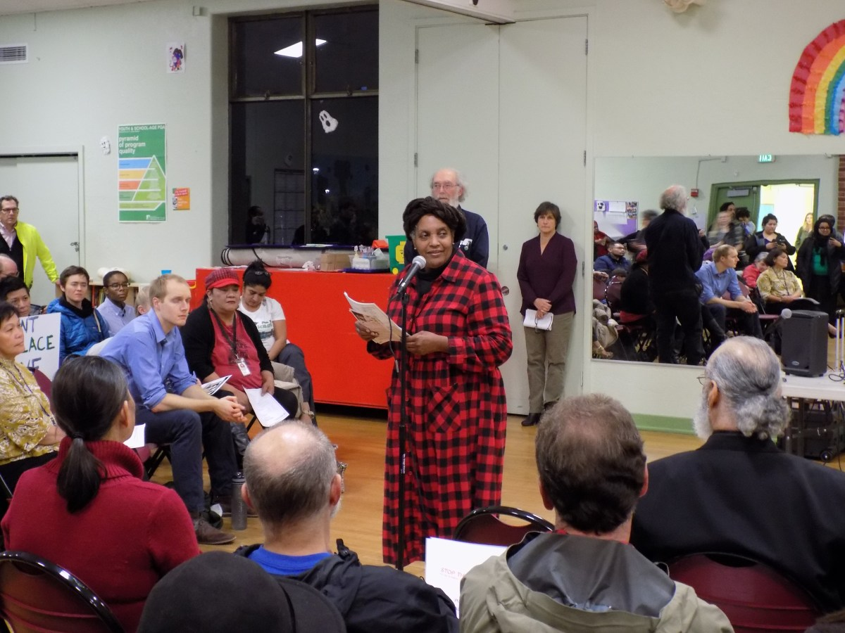 "Beacon Hill Community Rallies to Denounce Esther ""Little Dove"" John's Displacement"