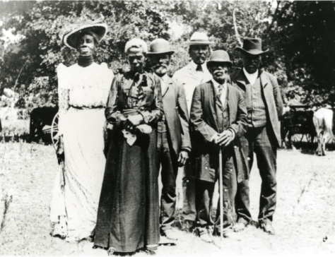 Juneteenth Committee, East Woods Park, Austin, Texas, June 19, 1900. —Smithsonian