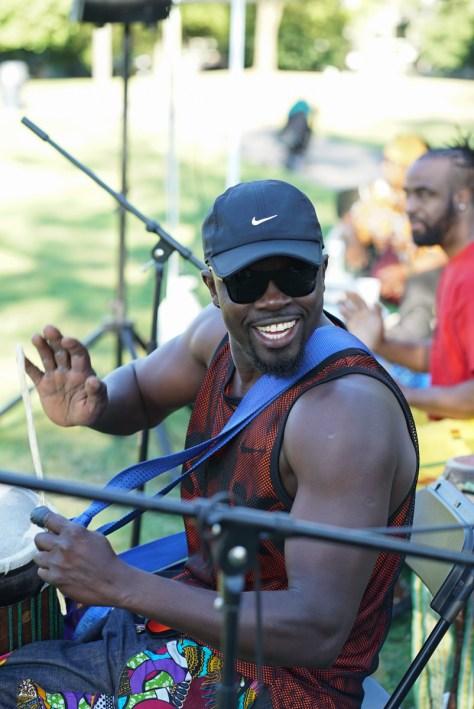 _African Village -Senegelese drummer-1