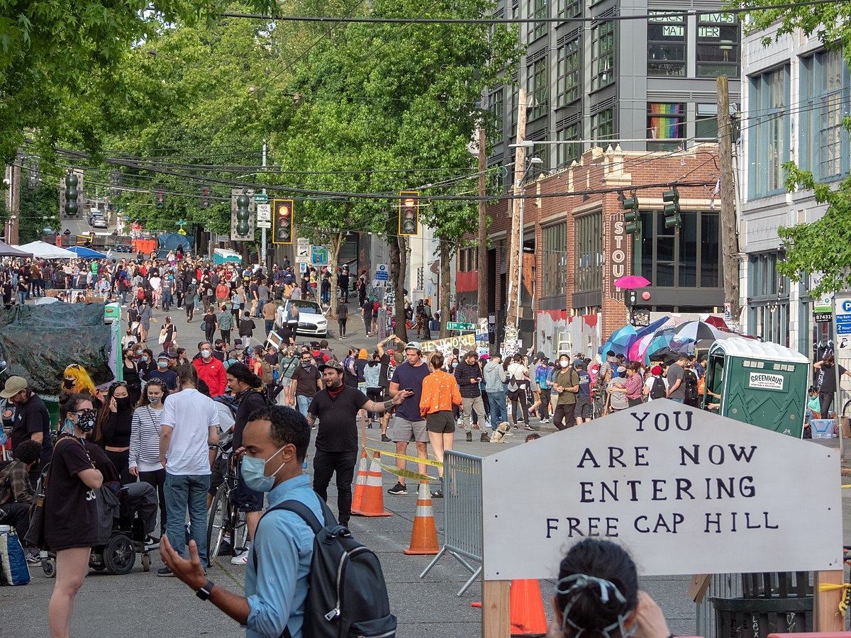 Capitol Hill Protest Or Police Free Utopia South Seattle Emerald