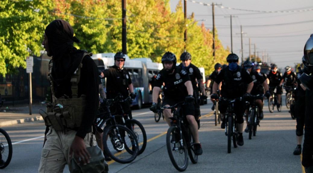 SPOG headquarters bicycle police