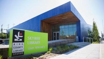 Skyway Library by Alex Garland