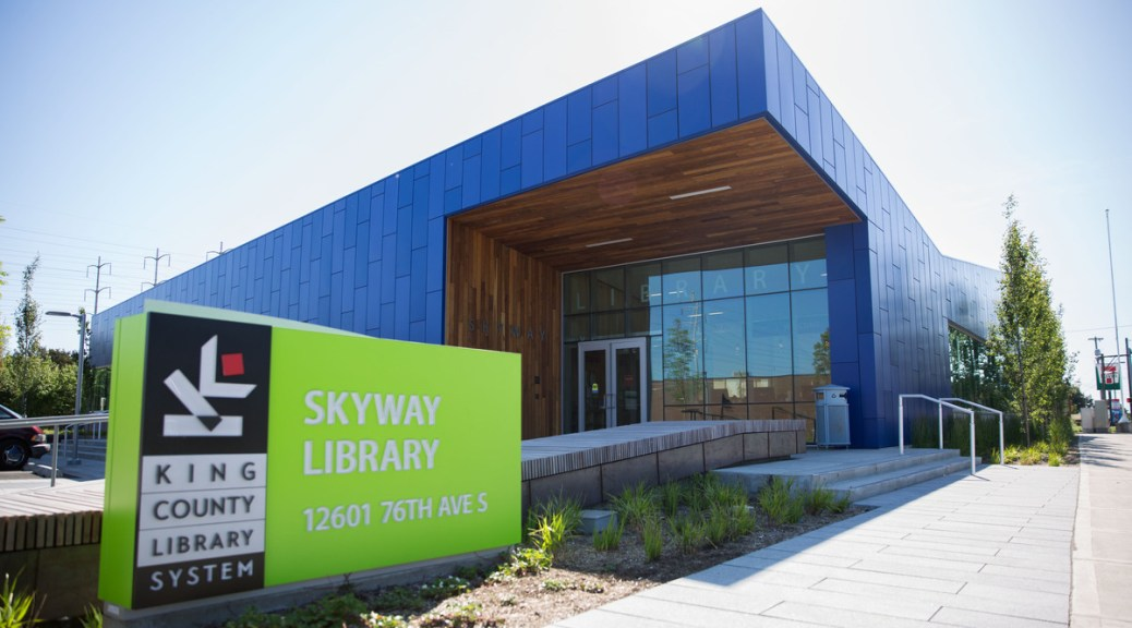Skyway Library by Alex Garland