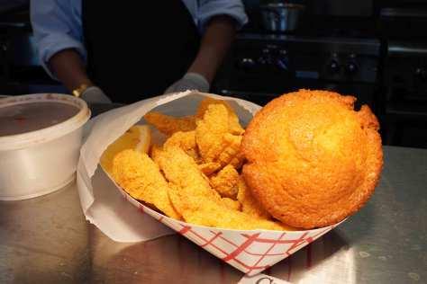 Photo of Jackson's Catfish Corner's signature dish.
