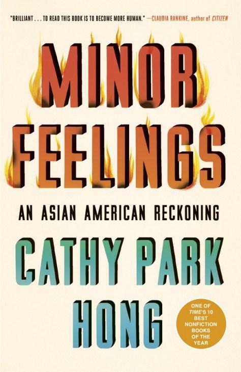 "Cover of Cathy Park Hong's ""Minor Feelings."""