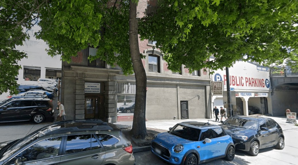 Washington Department of Corrections Work Release Center in Pioneer Square (Google Street View)