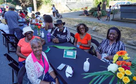 The Ervin-Smith Family joined dozens of other legacy Central District families at the Second Annual Reunion on Union.