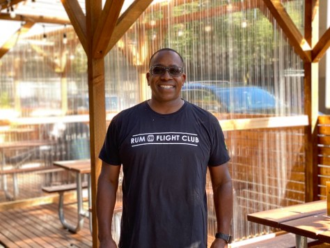 Theo Martin, the owner of Columbia City's Island Soul Rum Bar & Soul Shack. (Photo: Intentionalist)